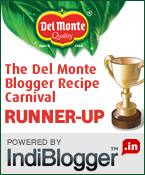 Del Monte - IndiBlogger Contest Runner-up