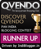 DISCOVER QVENDO IndiBlogger contest runner up