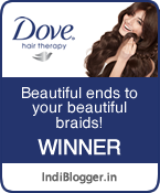 Dove Beautiful Ends to your Beautiful Braids! IndiBlogger Contest