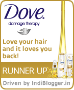 Love is a two way street: Love your hair and it loves you back! Dove IndiBlogger Contest Runner Up