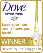 Love is a two way street: Love your hair and it loves you back! Dove IndiBlogger Contest Winner