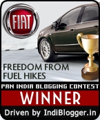 Fiat Freedom from Fuel Hikes! IndiBlogger Contest Winner