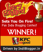 KFC Fiery Grilled IndiBlogger Contest Winner