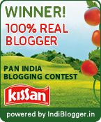 The Kissan 100% Real Blogger Contest Winner