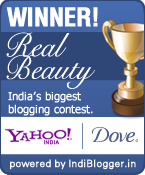 Dove Real Beauty IndiBlogger contest winner!