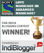 Sony Entertainment Television - IndiBlogger Contest Winner