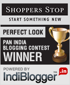 Shoppers Stop - IndiBlogger Contest Winner