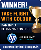 HP Take Flight With Colour IndiBlogger contest winner!