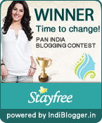 Stayfree Time To Change! IndiBlogger Contest Winner