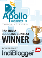 Apollo Touching Lives - IndiBlogger Contest Winner