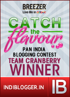 Catch The Flavour! - Winning Team Cranberry