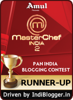 MasterChef India 2 IndiBlogger Contest Runner Up
