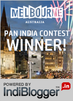 Tourism victoria Melbourne Now - IndiBlogger Contest Winner