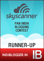 Travel Smart With Skyscanner IndiBlogger Contest Runner-up