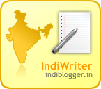 An Indian Writer on Indiblogger