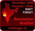 Nov 26 2008 - Remember Mumbai
