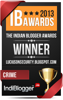 This blog won the 2013 Indian Blogger Awards - Crime