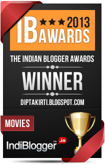 This blog won the 2013 Indian Blogger Awards - Movies