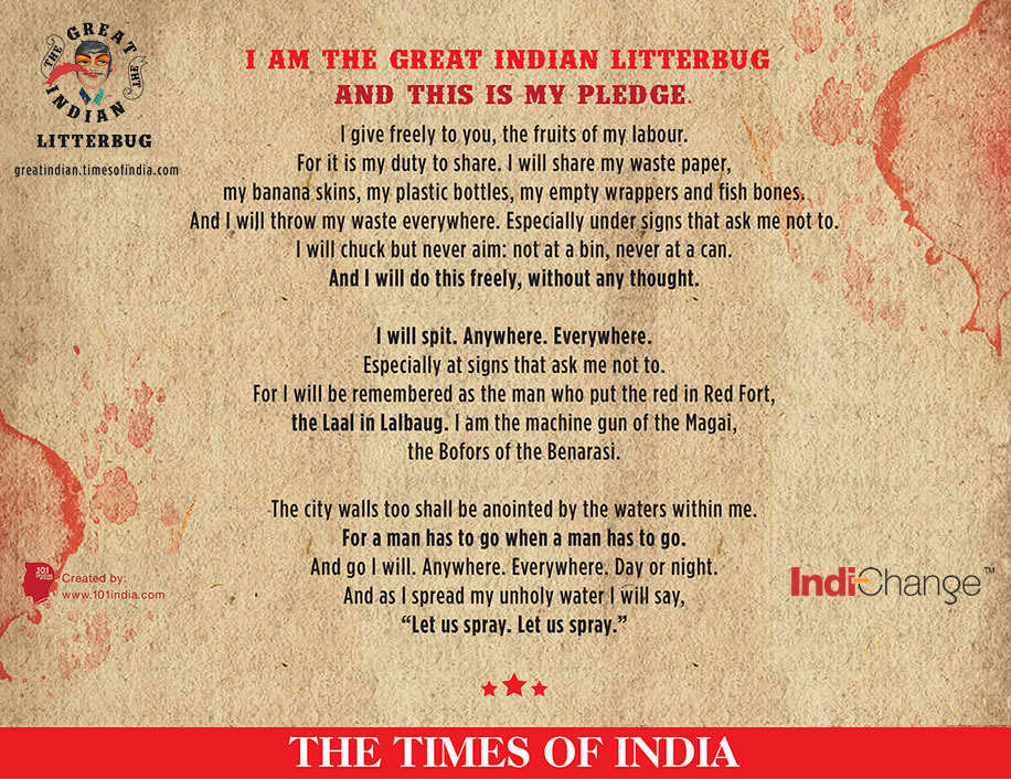 THE GREAT INDIAN LITTERBUG