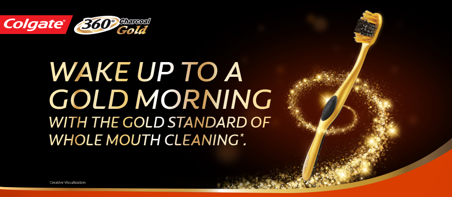 Wake up to a Gold Morning with the Gold Standard of WHOLE MOUTH cleaning!