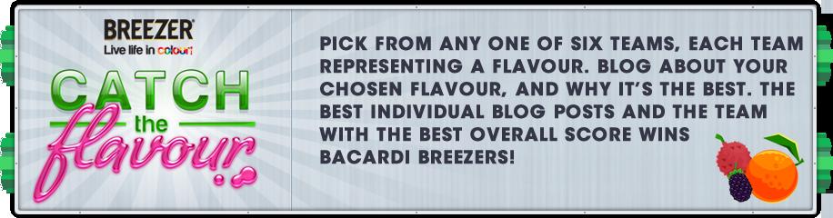Bacardi Breezer - Catch The Flavour