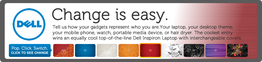 Dell Inspiron Laptops - Change is Easy