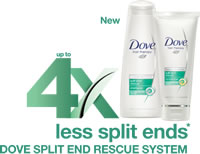 Dove Split End Rescue System