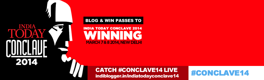 WINNING for India Today Conclave 2014