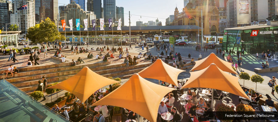 What's your reason for falling in love  with Melbourne, the most livable  city in the world? cover