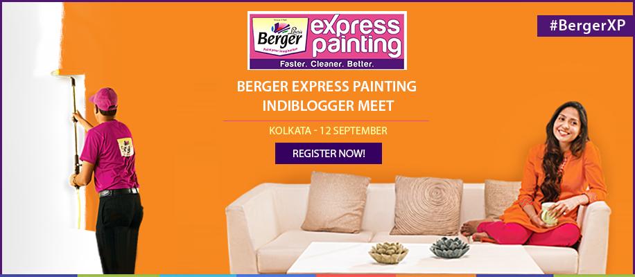 Berger Express Painting IndiBlogger Meet