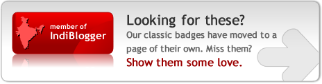Classic IndiBlogger Badges